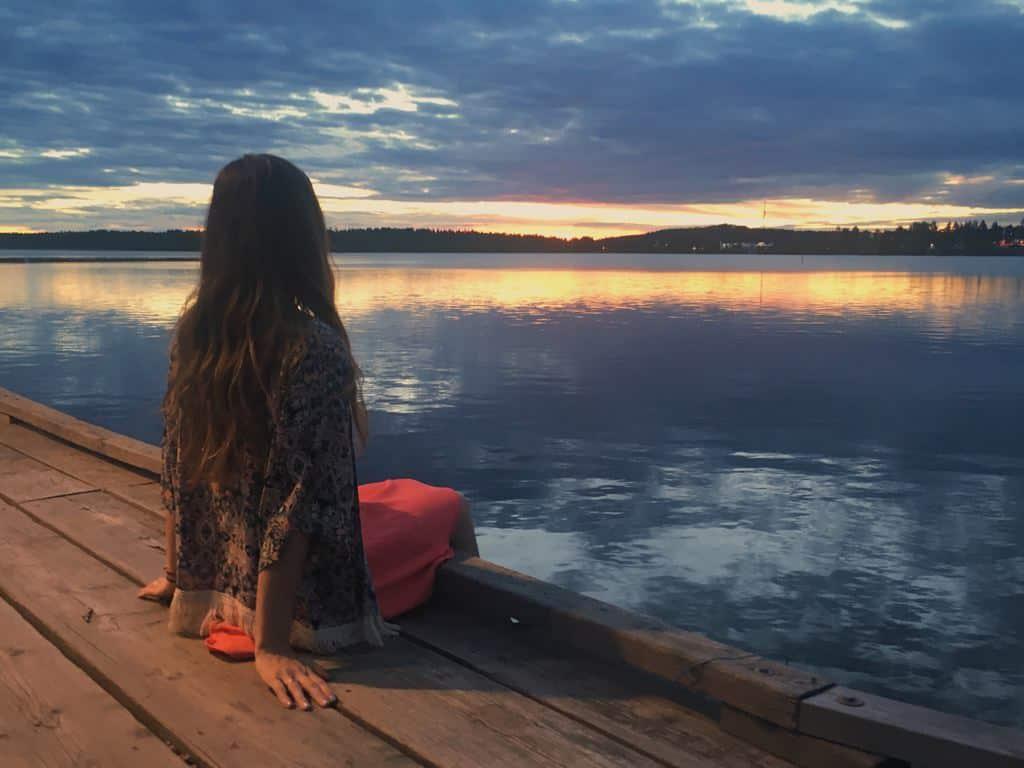 Midnight Sun Lulea Sweden