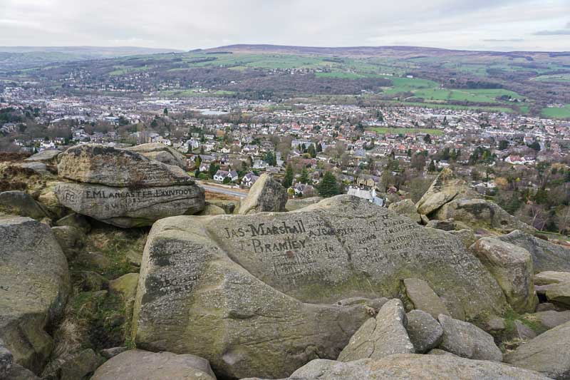Visiting Ilkley Yorkshire England United Kingdom
