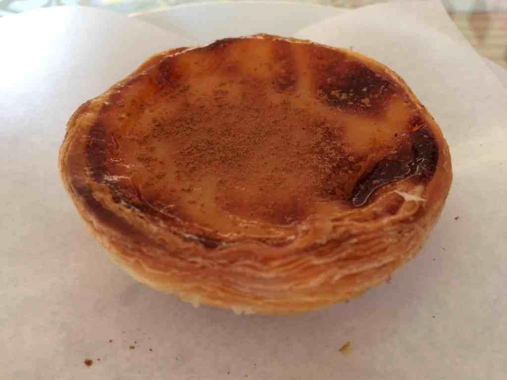 pastel de nata lisbon portugal