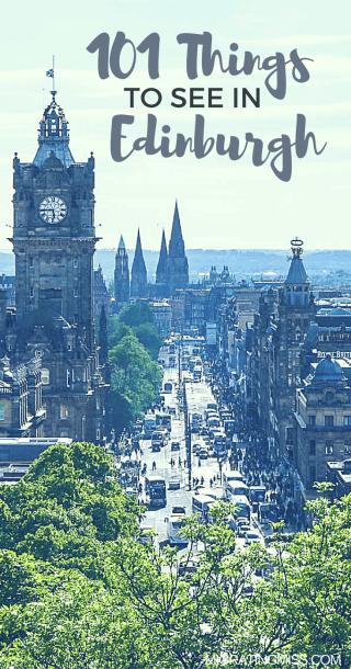 Edinburgh101 - Discovering Edinburgh through Objects