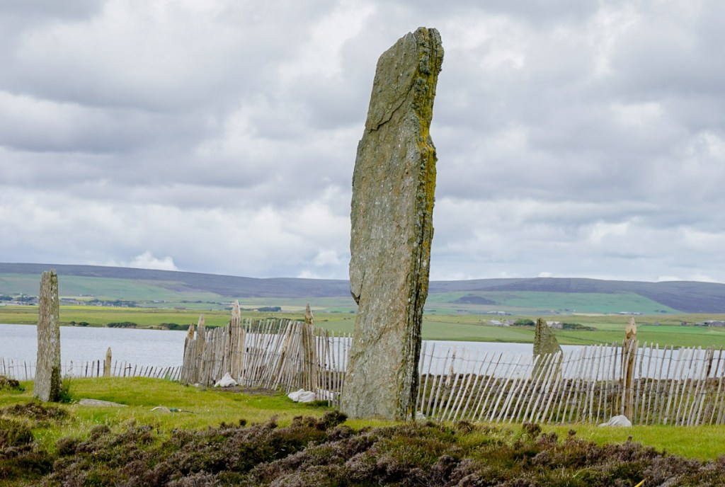 Historical Sites Orkney Islands Scotland