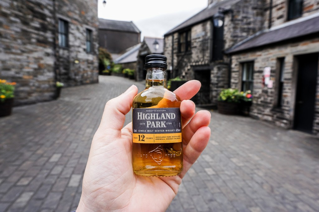 Distillery in Orkney Islands