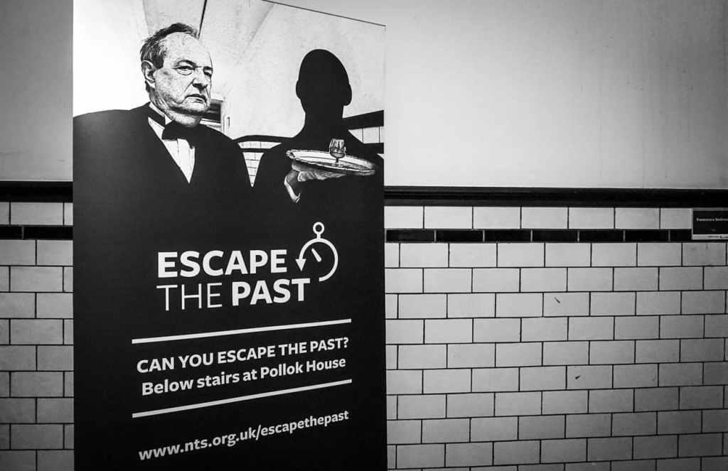 Escape the Past escape room, Pollok House, Glasgow