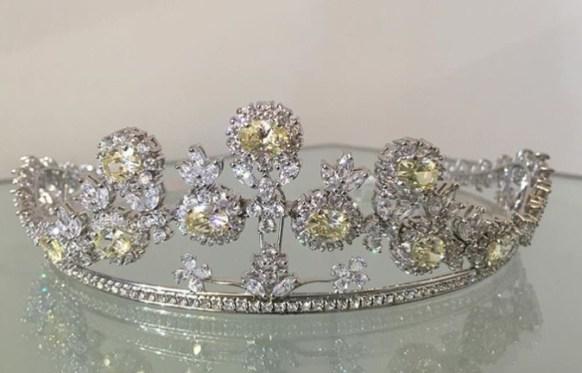 tiaras para noivas e madrinhas miguel alcade luxo