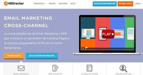 MDirector.com email marketing software