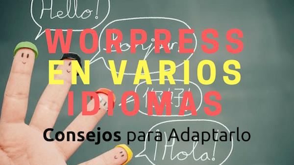 Idiomas WordPress