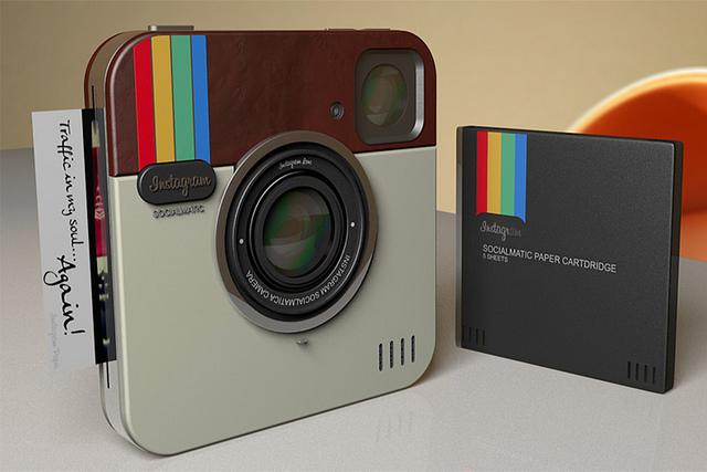 Instagram y Polaroid unidos por una pasión