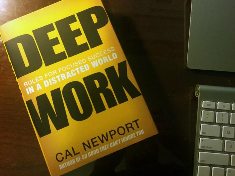 Trabalho profundo de Cal Newport