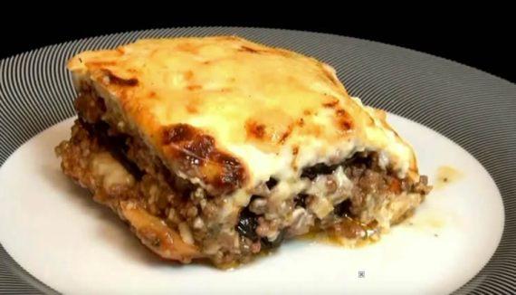 Lasagna de berenjenas (Musaka)