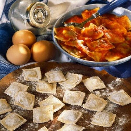 Ravioli a la Bolognesa (Cocina Italiana)