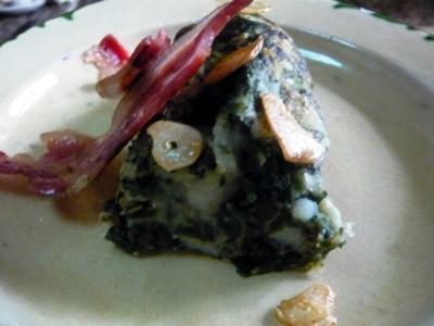 Trinxat con col rizada (Kale)