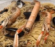 Spaghetti alla Scogliera (Cocina italiana)
