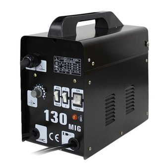 F2C AC Power Auto Feeder Mig 130 Gas-less Flux Core Wire Welder Welding Machine Cooling Fans