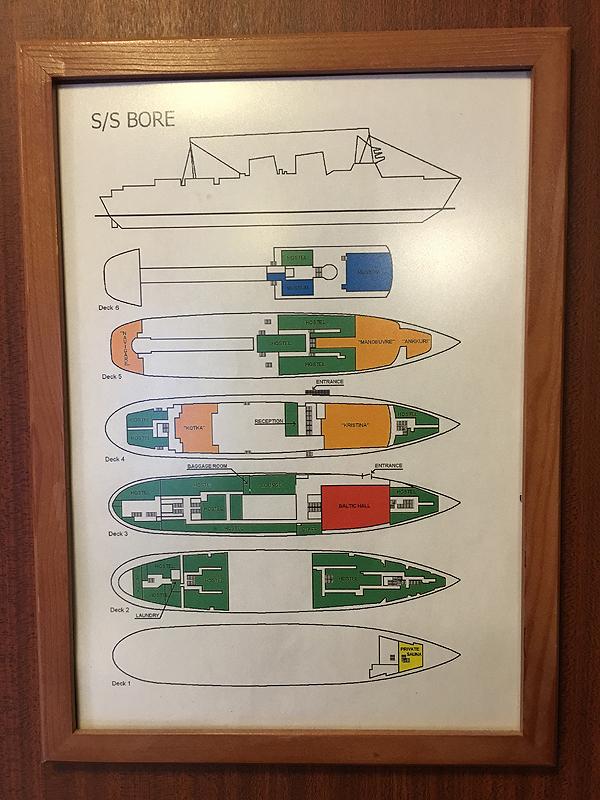 Laivatunnelmaa. :)
