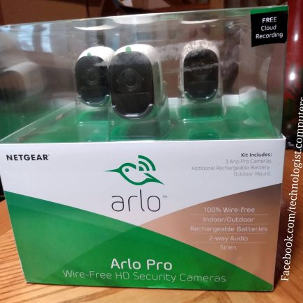 Arlo 3 Camera system with Siren & 2- way Audio