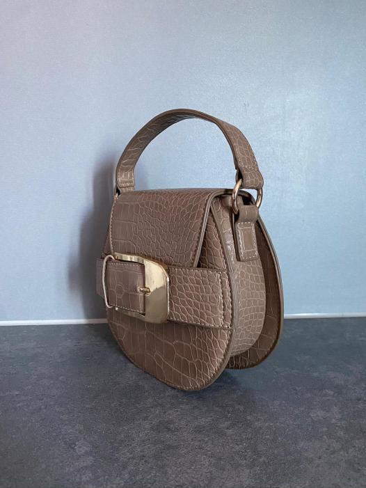 brown fashion bag