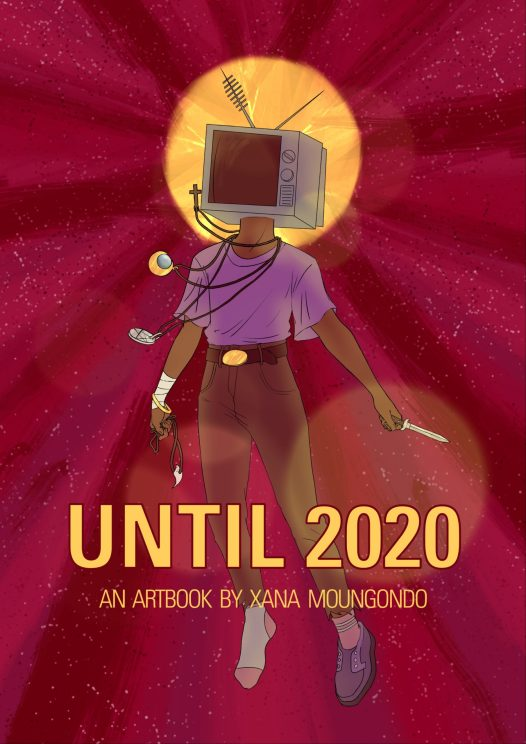 Cover of the artbook