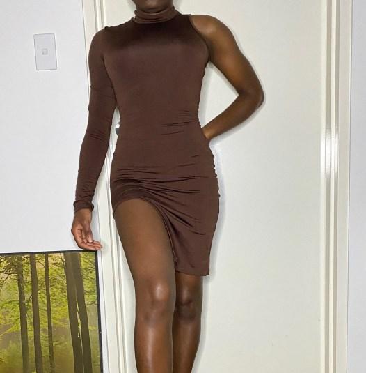 'Aya Choc' Dress