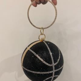 basketball bag in black