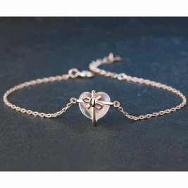 Pure Of Heart Rose Quartz Intention Bracelet - SOUL IMPACTFUL