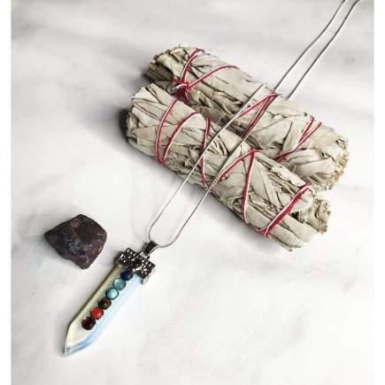 Strength Chakra Pendant Necklace Set - SOUL IMPACTFUL