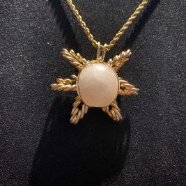 Sun pendant design