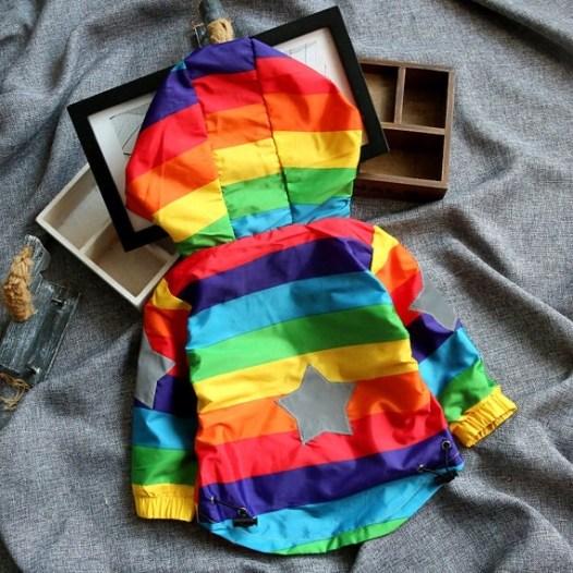 Rainbow Windbreaker/Jacket