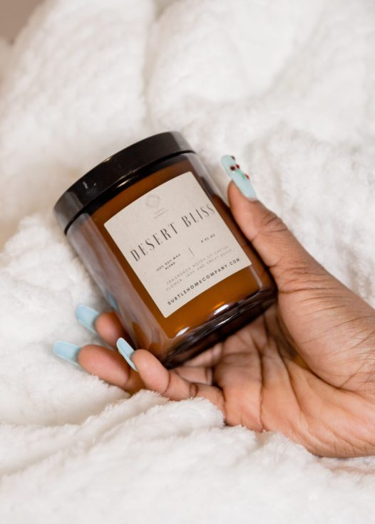 desert bliss soy candle