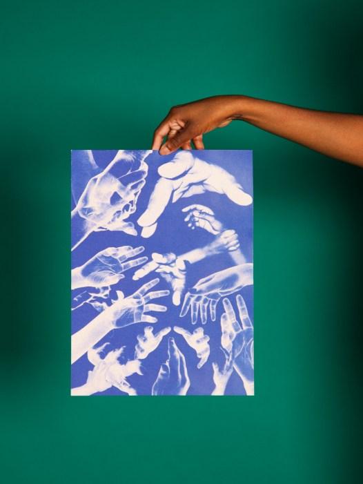 lend a hand print