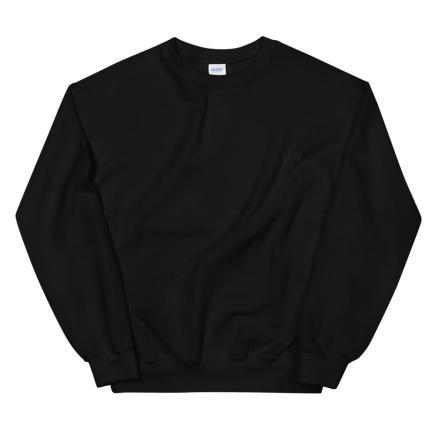 Leo All Black - Unisex Sweatshirt