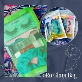 Glam Bag   Lip Gloss & Lashes   Vegan Lashes   Mink Eyelashes   False Eyelashes   Lashes   Lipgloss   Scrunchy   Beauty Bundle