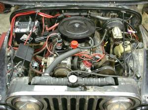 V8 Motor Swap « MidIllini Jeepers