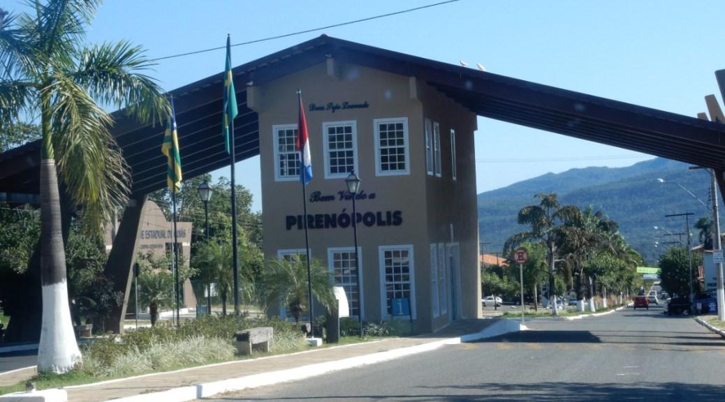 Mijnbrazilie-Brazilië-Pirenópolis-Bem vindo a Pirenópolis