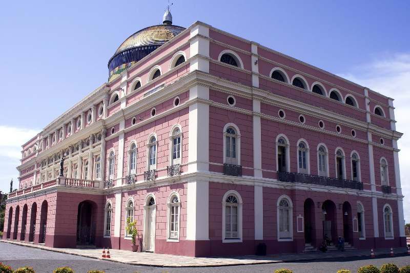 Braziliaanse feestdagen-Aniversário de Manaus-Teatro Amazonas