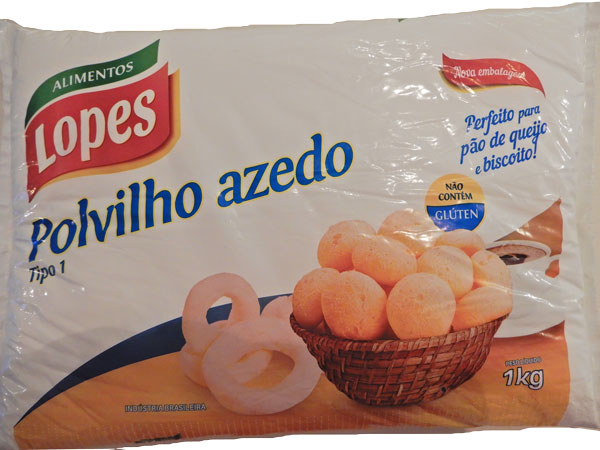 Braziliaanse producten Mijnbrazilie Brazilië Braziliaanse keuken Polvilho Azedo Finalmente Brasil