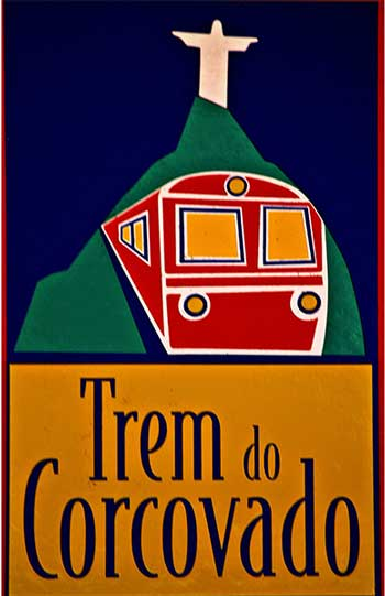 Trem do Corcovado bord