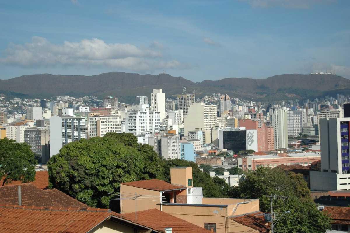 Zicht over de stad Belo Horizonte