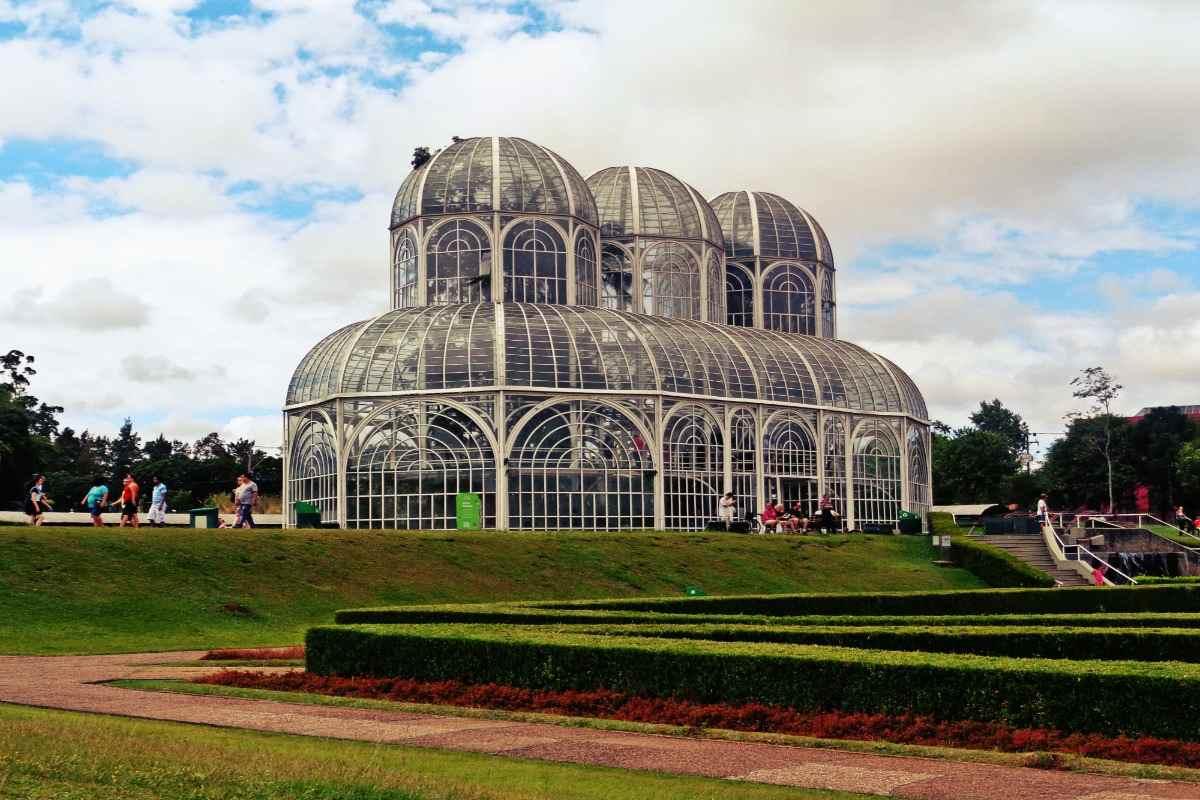 Foto van Jardim Botânico in Curitiba