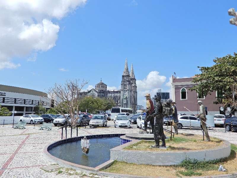 Catedral Metropolitana de Fortaleza-Comando da 10ª Região Militar-Mercado Central Fortaleza