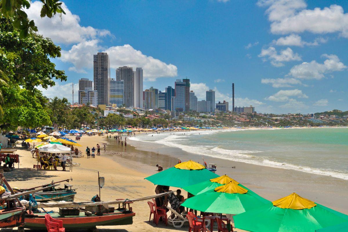 Strand van Natal in Brazilië