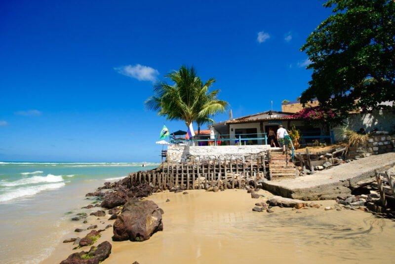 Lekkere restaurants aan het strand van Pipa