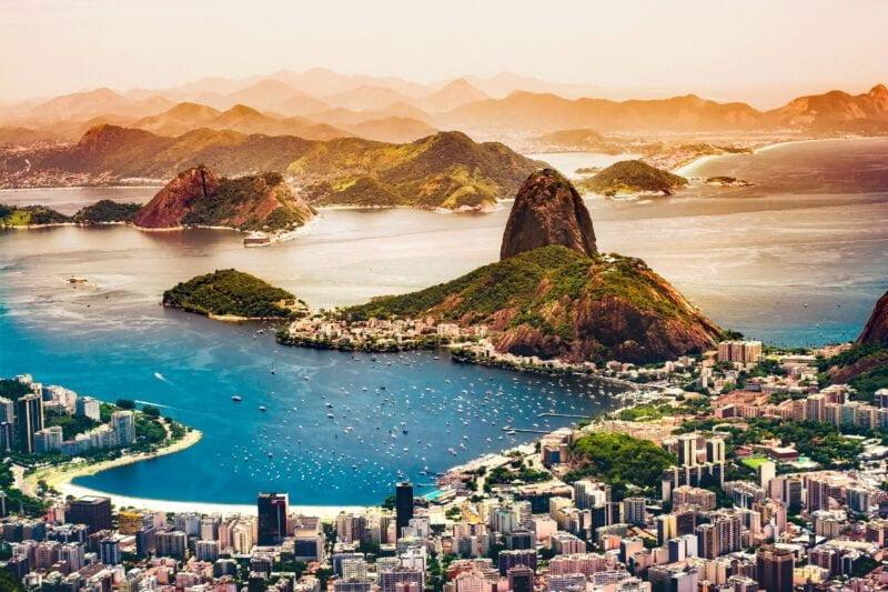 Mijnbrazilie-Brazilië-Rio de Janeiro-Baai van Guanabara