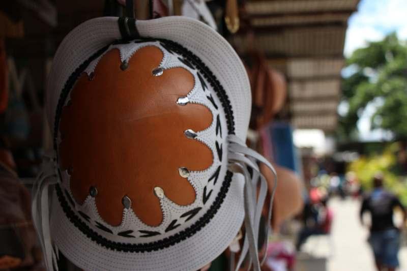 Mercado de São José-Handgemaakte hoed