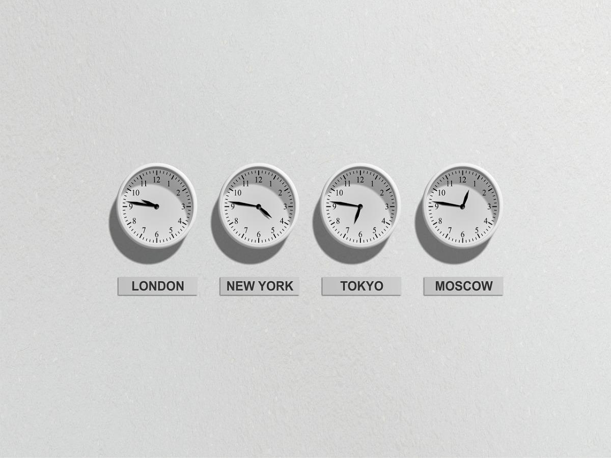 Tijdsverschil met andere landen