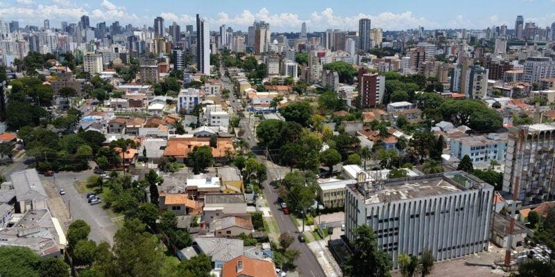 Skyline van Curitiba