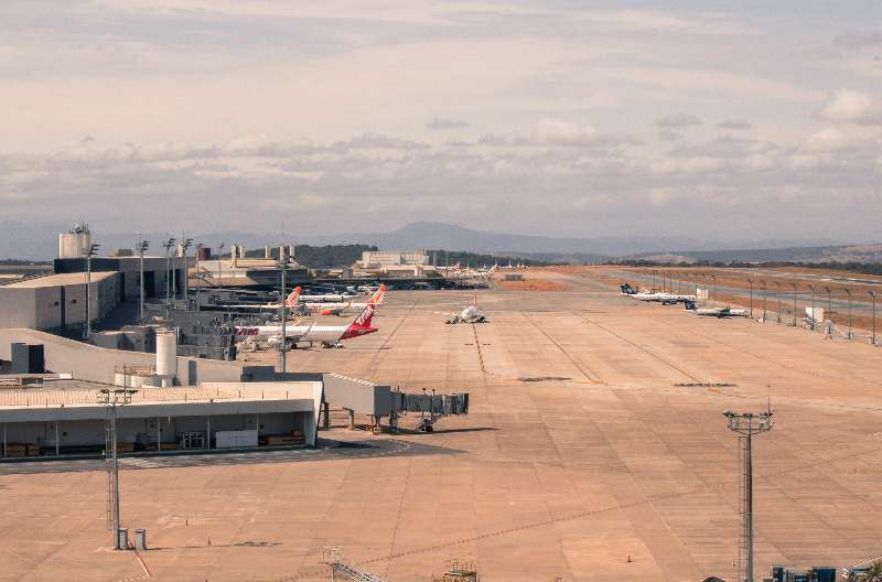 Belo Horizonte-Aeroporto Internacional Tancredo Neves /  Confins Platform vliegveld Belo Horizonte