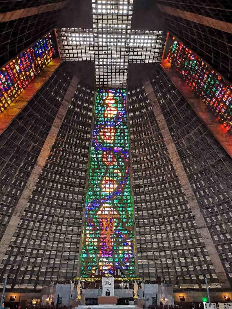 Rio de Janeiro-Bezienswaardigheden-Catedral Metropolitana de São Sebastião do Rio de Janeiro
