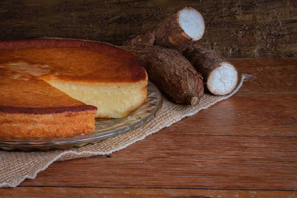 Cassave cake Bolo de Mandioca