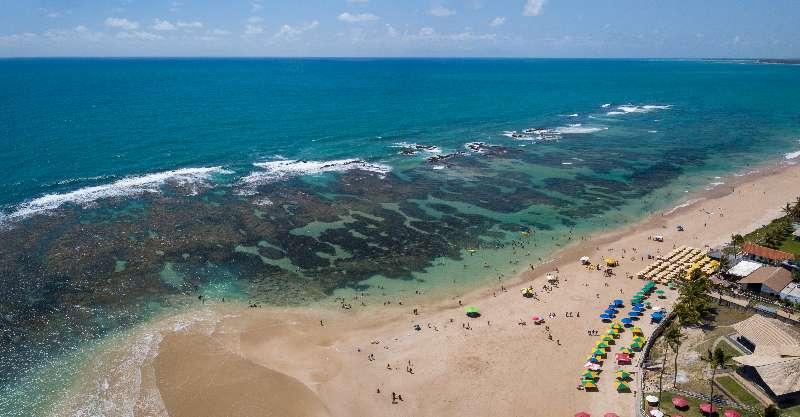 Pontal do Cupe beach