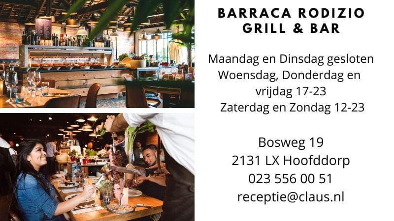 Braziliaanse Restaurants in Nederland-Hoofddorp-Barraca Rodizio Grill & Bar